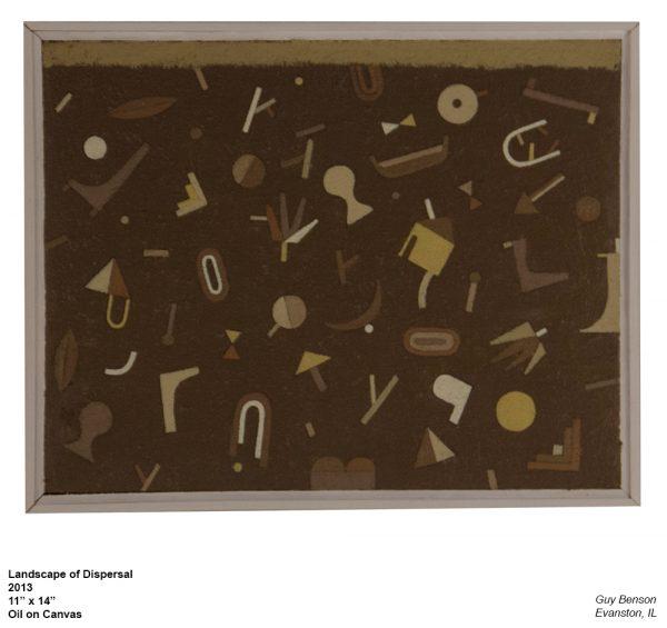 Landscape of Dispersal, Guy Benson